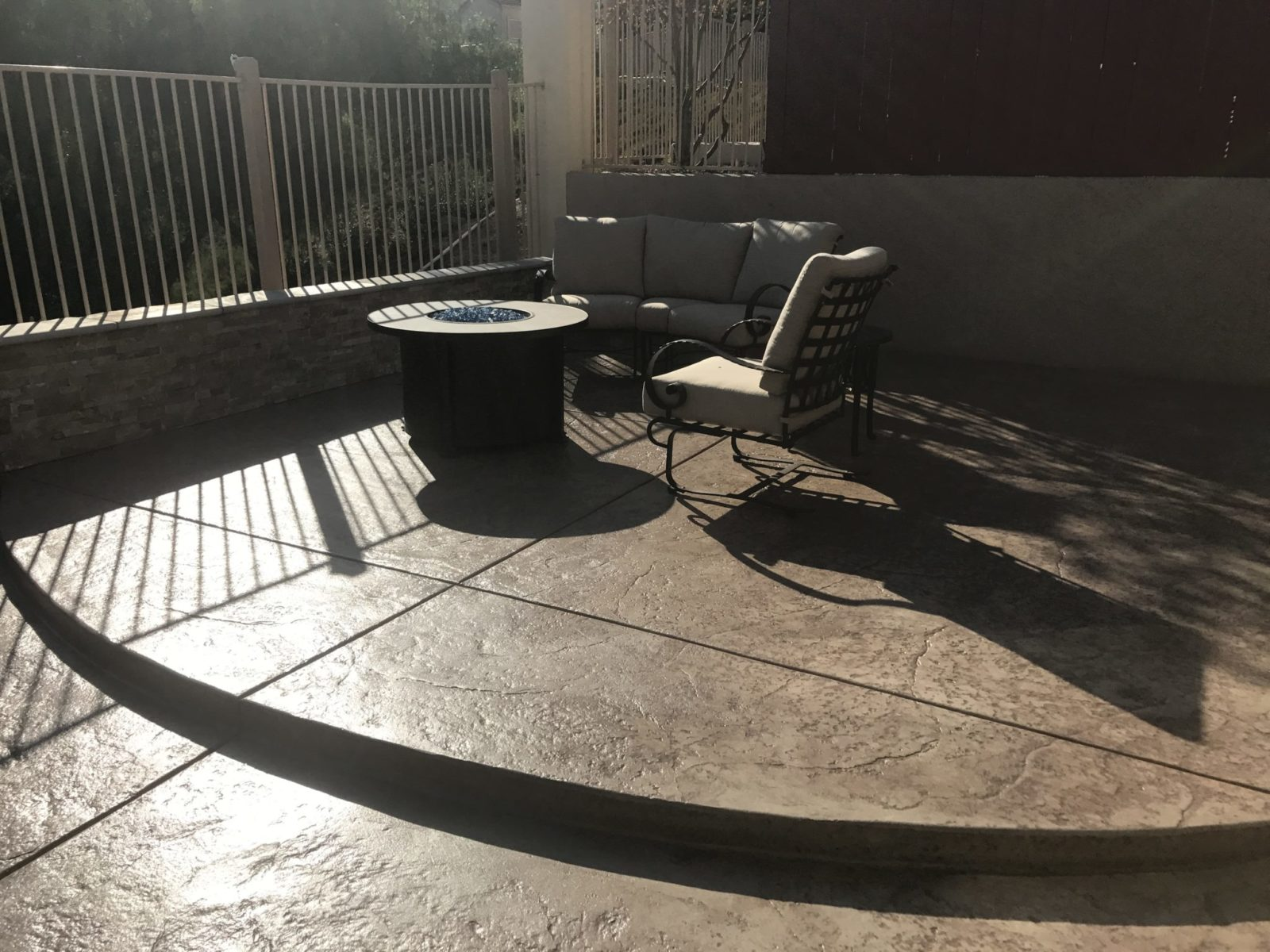 stamped concrete in Chula Vista